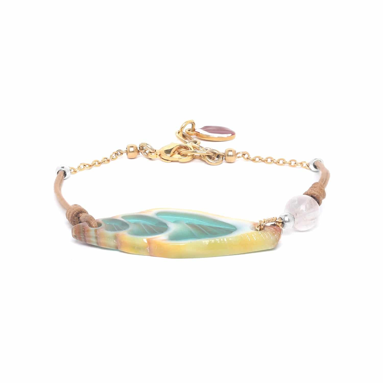 LAGOON bracelet vexillum turquoise
