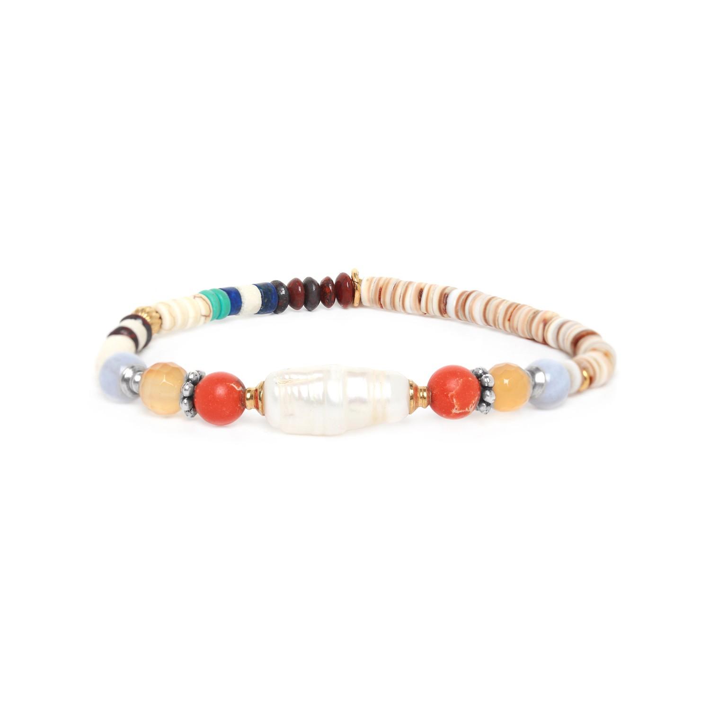 KALI bracelet extensible heishi