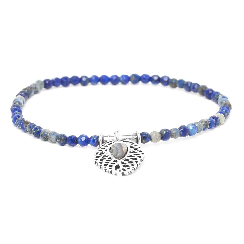 FITTONIA bracelet extensible lapis lazuli