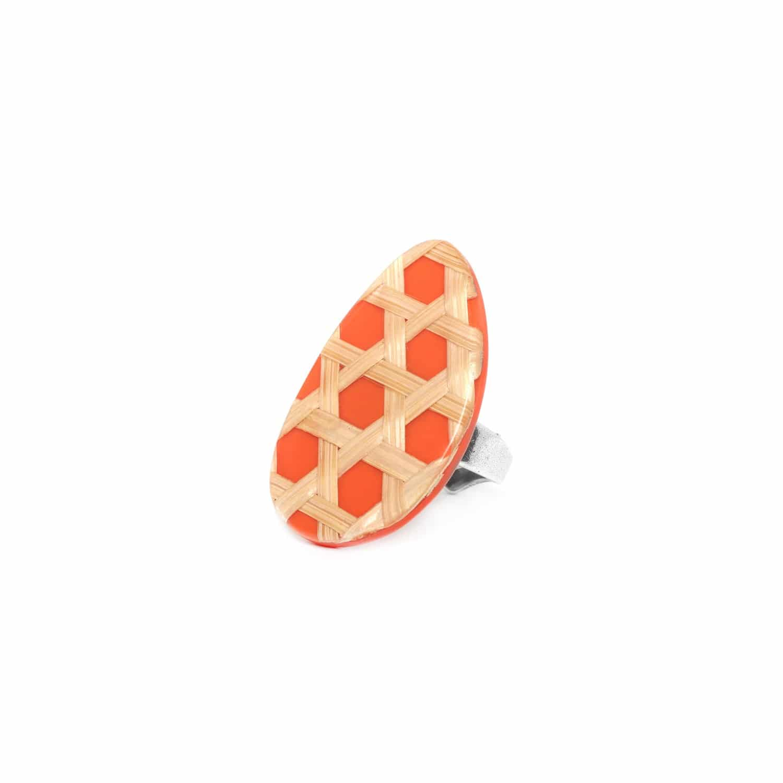 CANNAGE bague mandarine