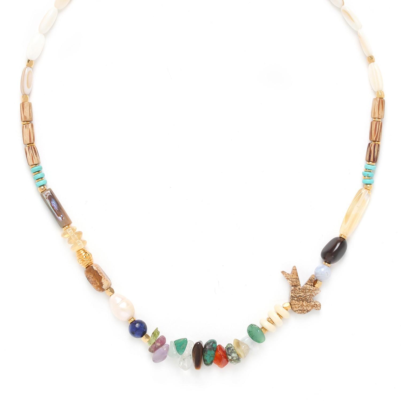 KALI bird necklace