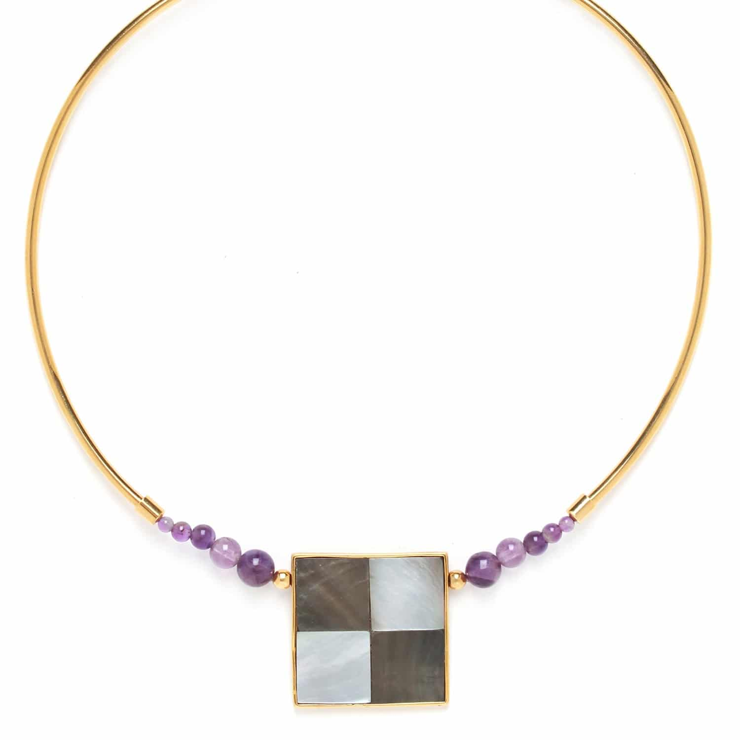 LE SQUARE tork necklace