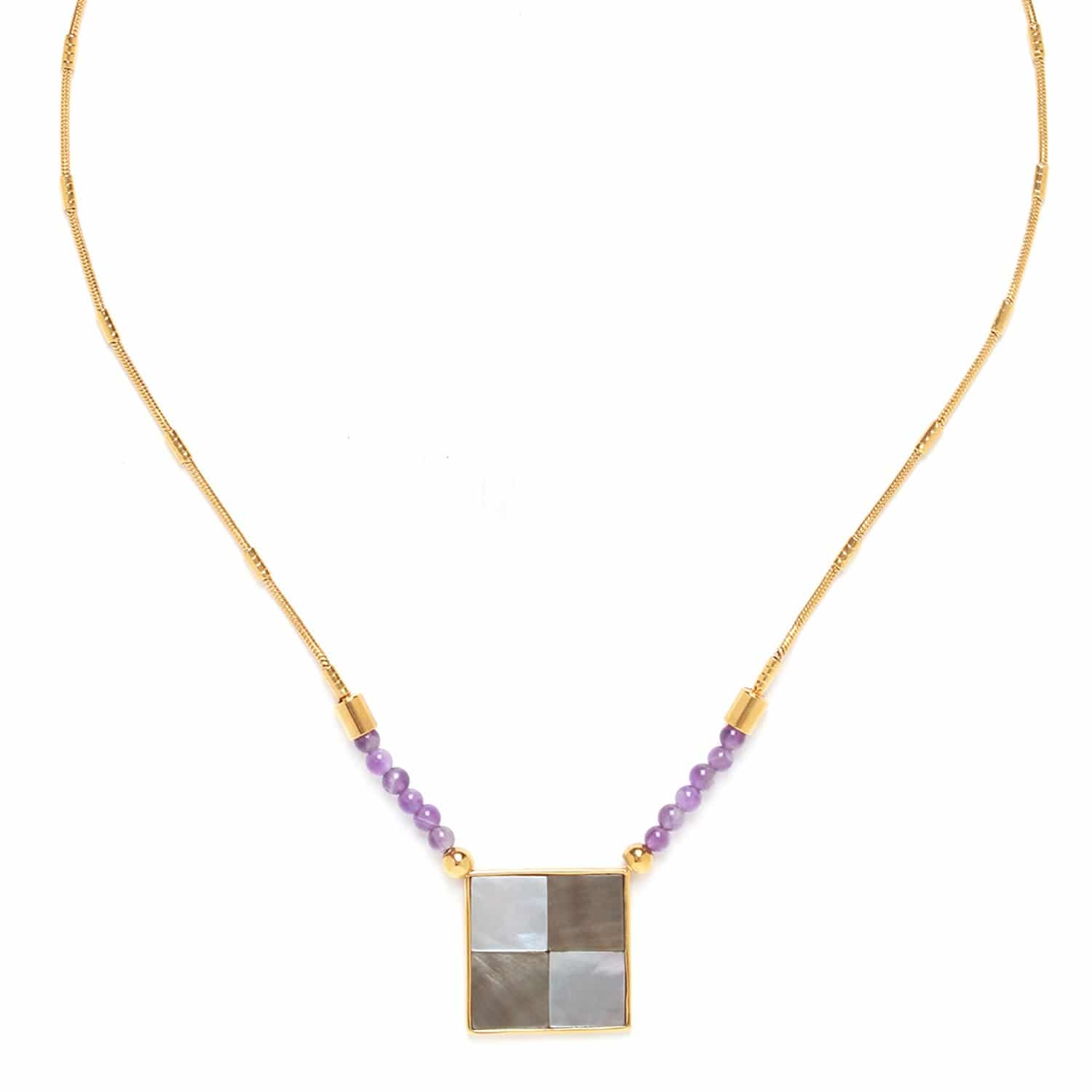 LE SQUARE small pendant necklace