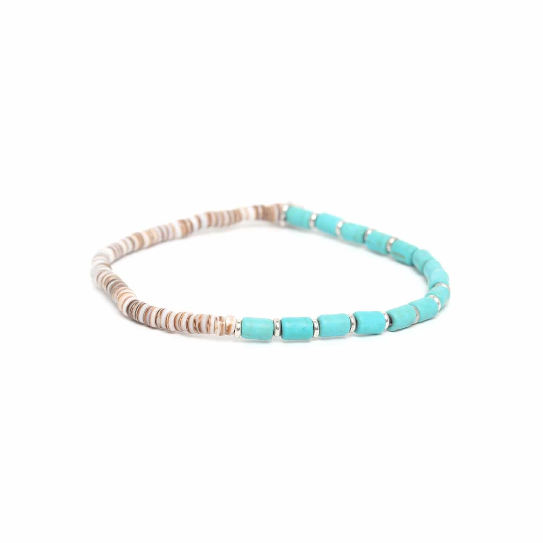 SAMBA bracelet howlite turquoise
