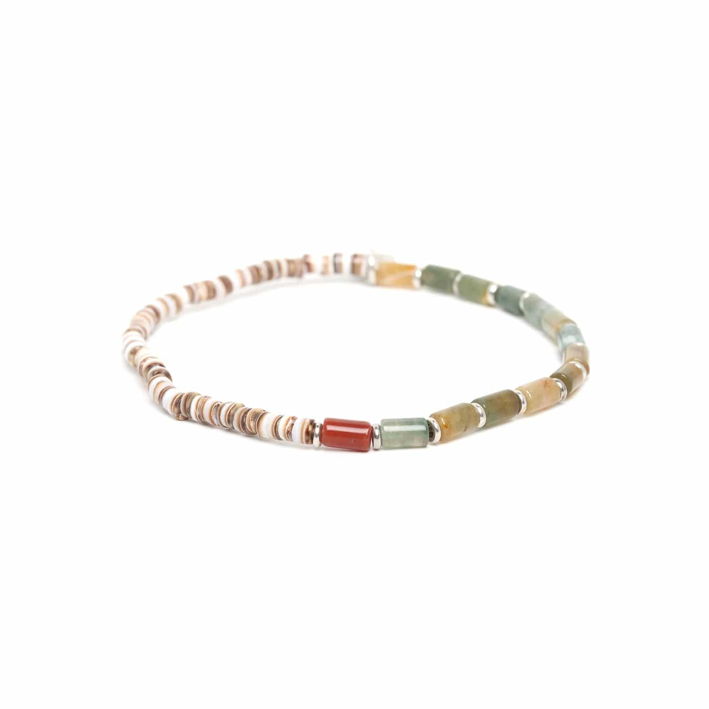 SAMBA bracelet jaspe vert