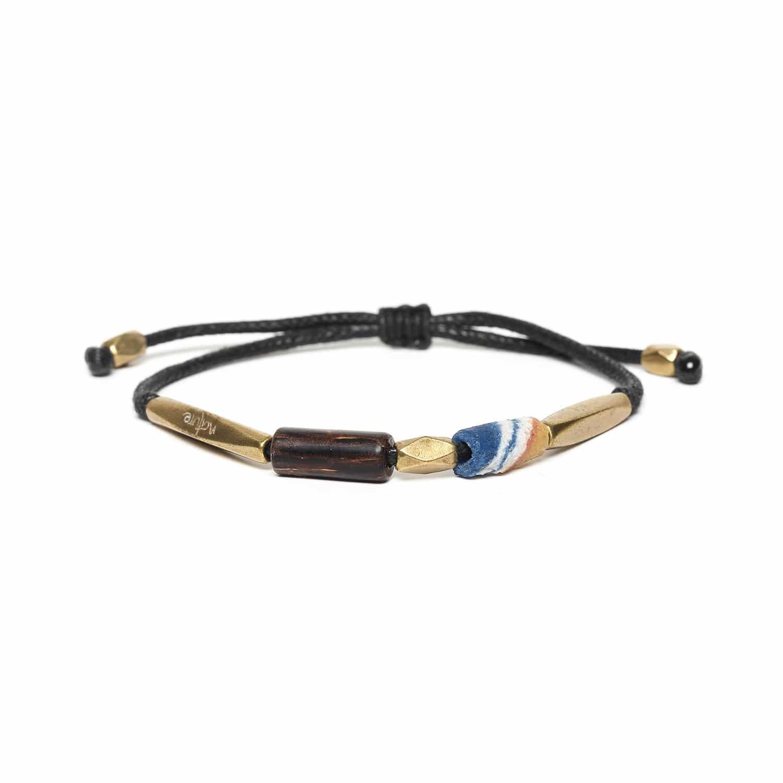 KOOMA blue & brass bracelet