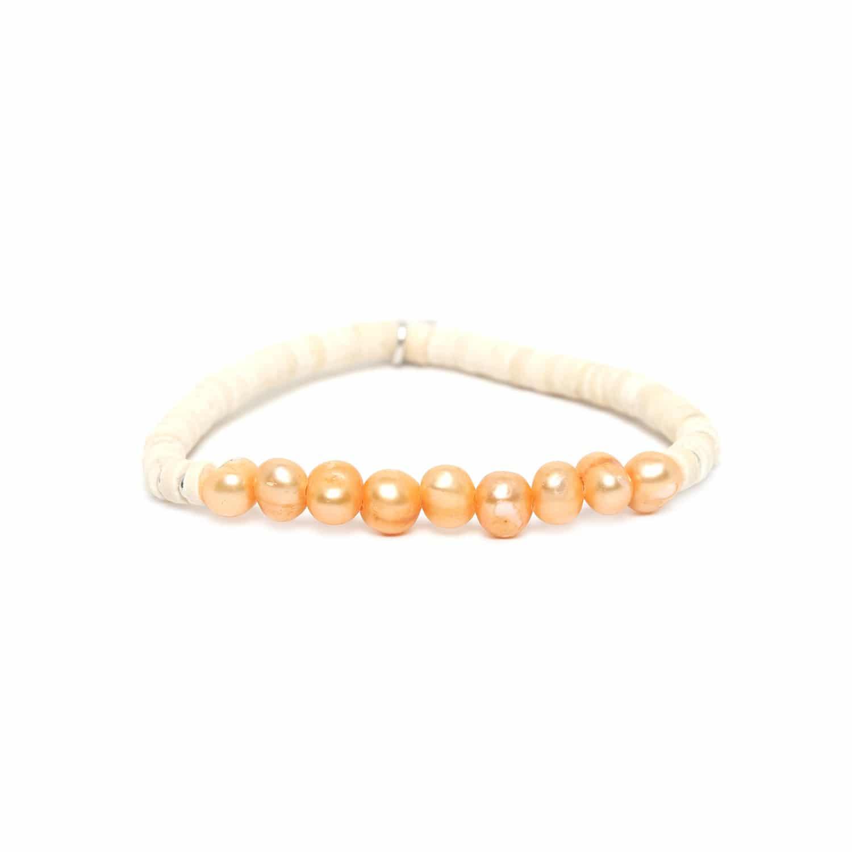 COCO PEARL orange pearl bracelet