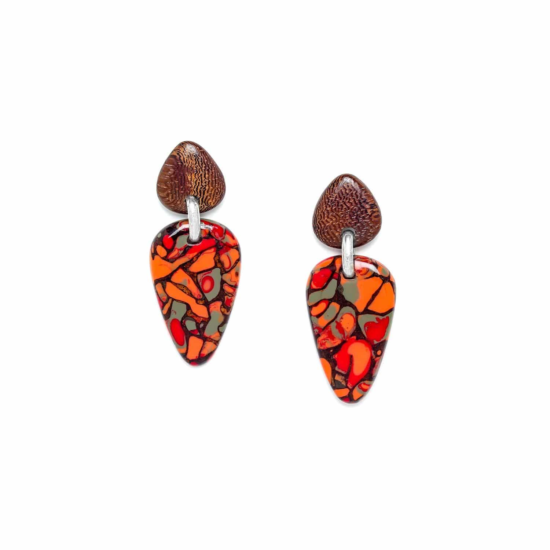 AMAZONIA boucles d'oreilles flêche