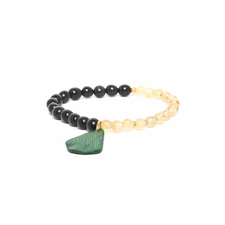 WILD LEAVES bracelet extensible duo