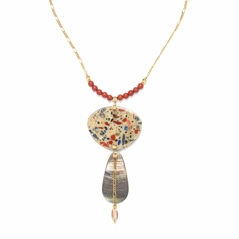 GAUDI drop necklace