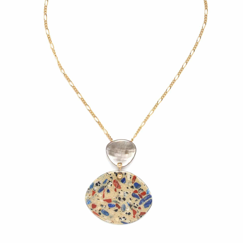 GAUDI 2 elements necklace