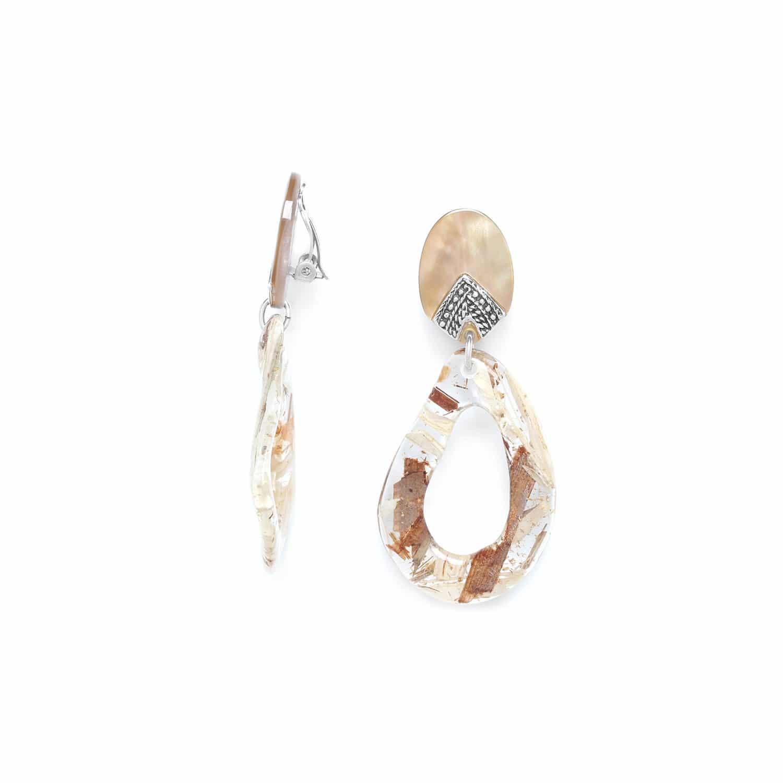 ALTAI grandes boucles d'oreilles clips
