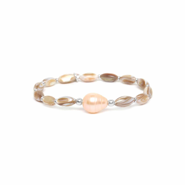 ALTAI bracelet extensible une perle de culture