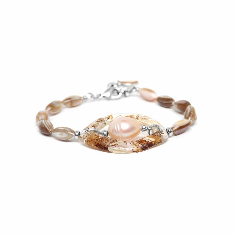 ALTAI bracelet perle de culture dans un anneau