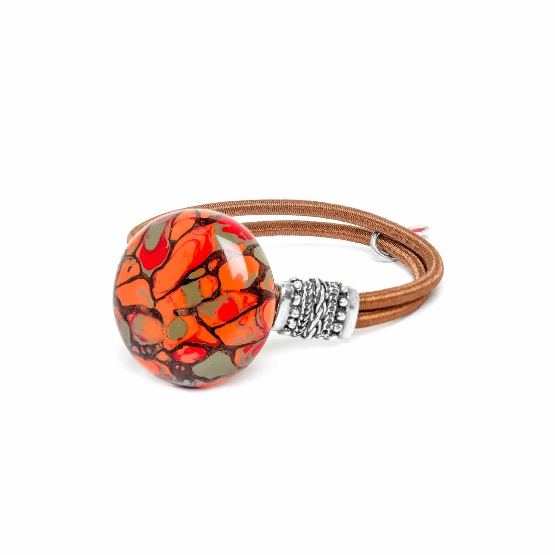 AMAZONIA bracelet bouton