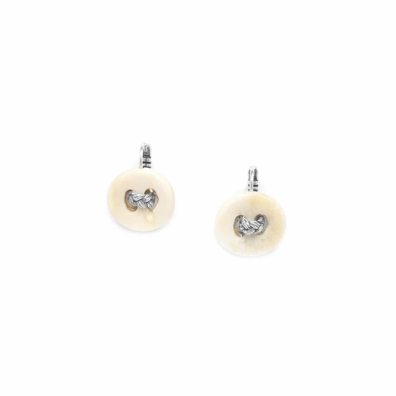 INUIT boucles d'oreilles bouton