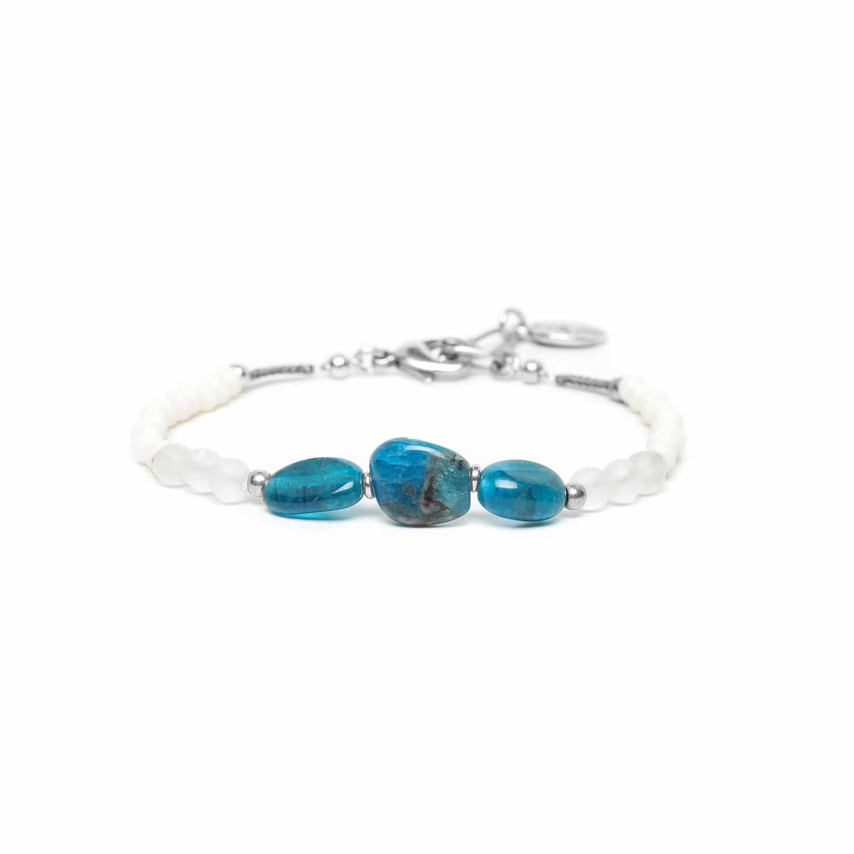 INUIT bracelet 3 apatite