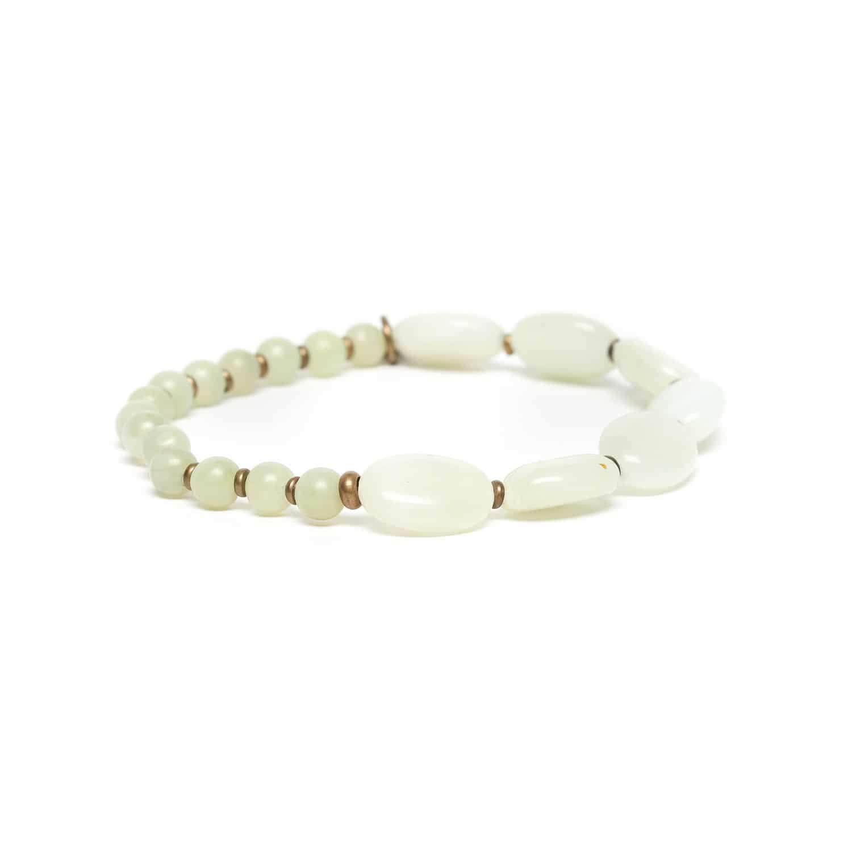 PACHACUTI bracelet extensible de jade