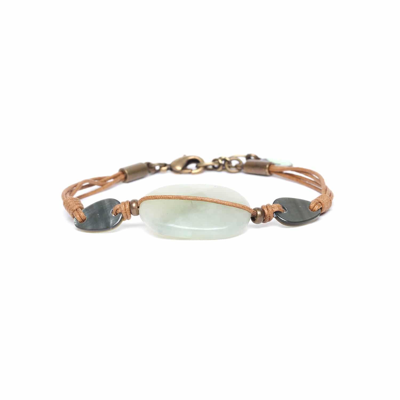 PACHACUTI bracelet gros jade