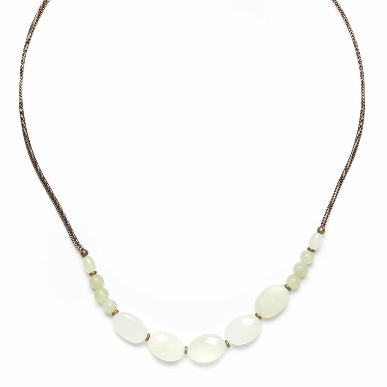 PACHACUTI petit collier de jade