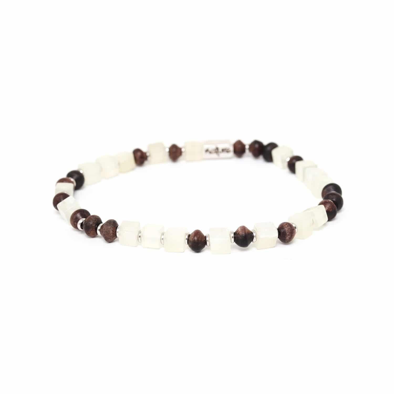 THE WAY bracelet jade & ébène