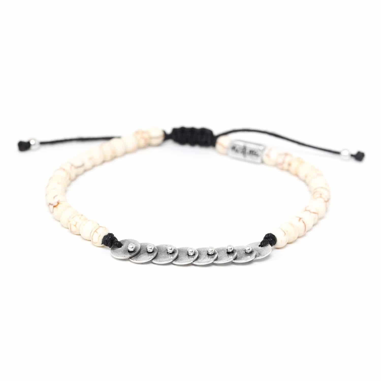 DISCO bracelet howlite