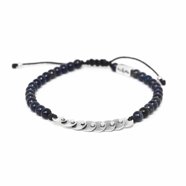 DISCO bracelet lapis lazuli