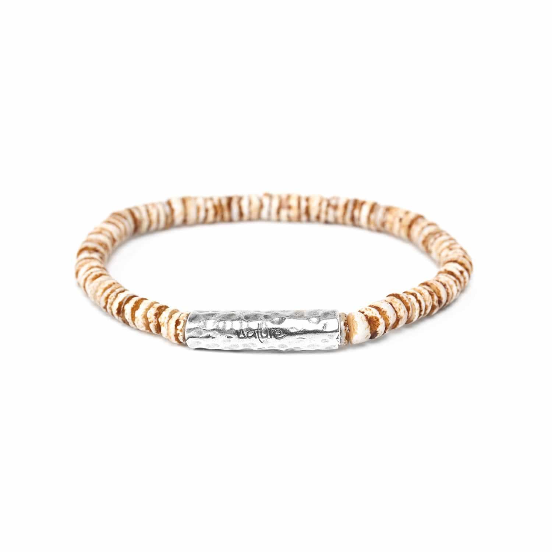 DAGAT havana heishi bracelet