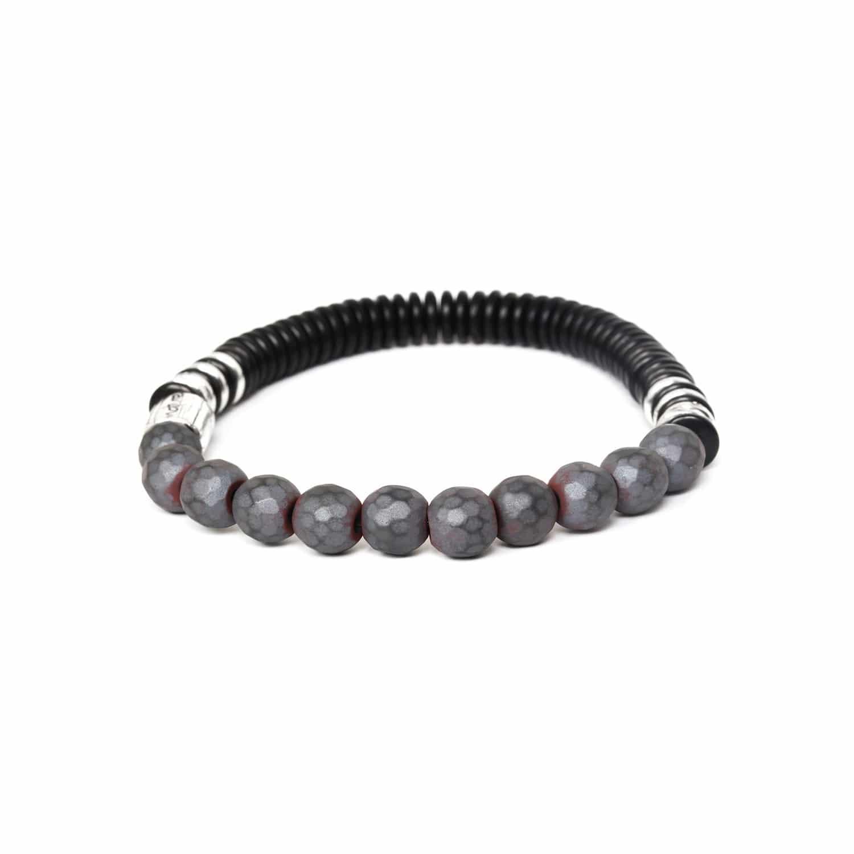IROQUOIS bracelet extensible hématite