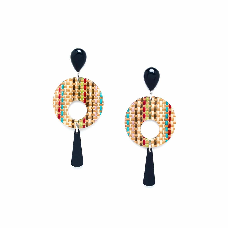 KIMONO big earrings