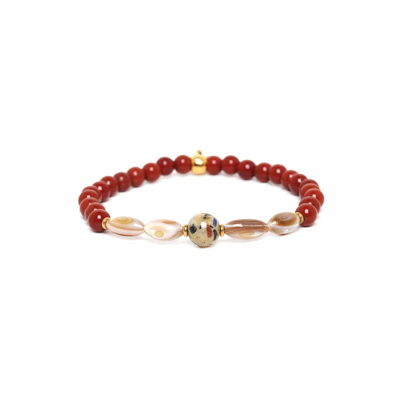 GAUDI one bead stretch bracelet