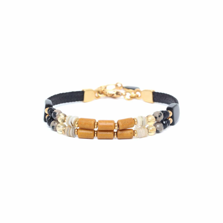 BENGALI bracelet 2 rangs