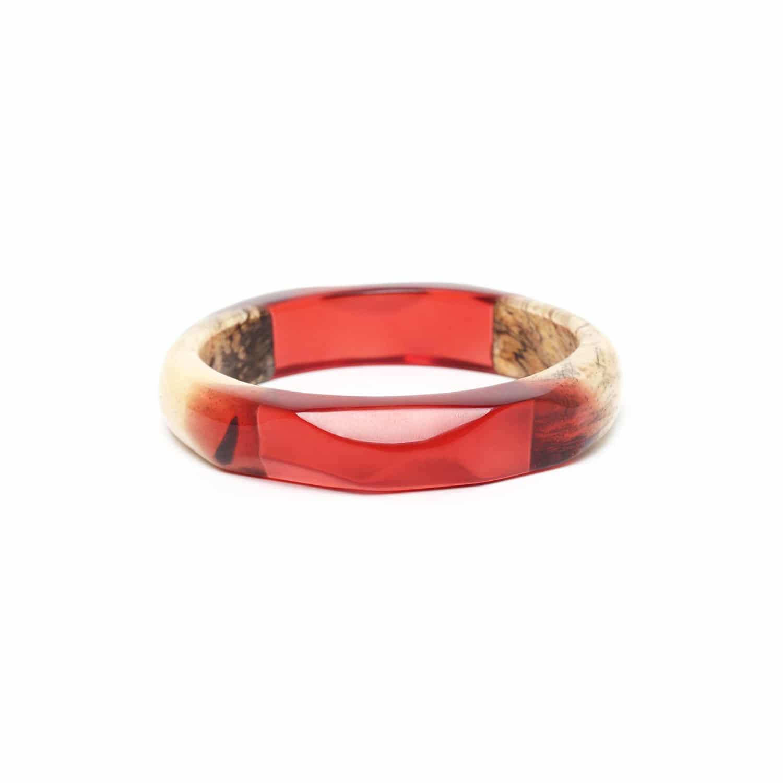 SWEET AMBER bracelet rigide tamarinier