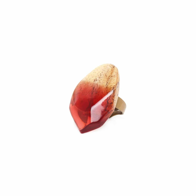 SWEET AMBER grande bague tamarinier